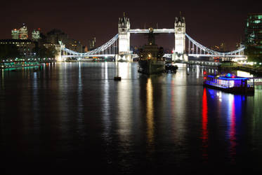 Tower Bridge + HMS Belfast by CitizenJustin