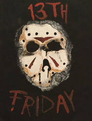 Friday The 13th Fanart/Jason Voorhees by Camelgangster
