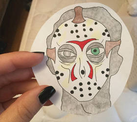 Jason Drawing by Camelgangster