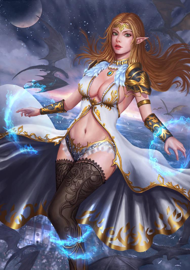 Night War by ArtRockPhantom