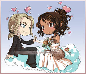 ChibiMe_Wedding by GainaSpirit