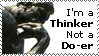 Thinker Stamp by Oatzy