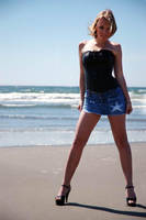 Jae Stone Moss Beach I by CogentContent