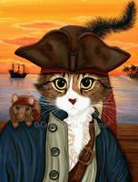 Captain Leo by tigerpixieart