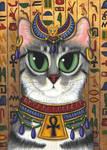 Bast Goddess by tigerpixieart