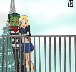 BEAST BOY AND TERRA by aikoshadow