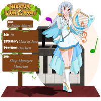 Harvest Lunatone Application Adelina Morris by MelodyCrystel