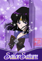 Sailor Saturn Card by xuweisen