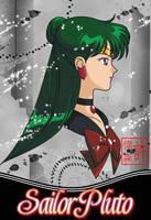 Sailor Pluto Card by xuweisen