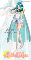 Cosmos Sailor Neptune by xuweisen