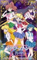 Sailor Moon Crystal Season 3 - Inner Senshi by xuweisen