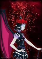 Sailor Shadow Galaxia by xuweisen