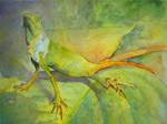 The Lizard by AkinAdekile