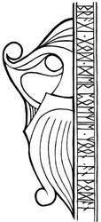 Bragi - God of Poetry by wulfhaer