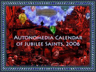 Calendar of Jubilee Saints '06 by james119
