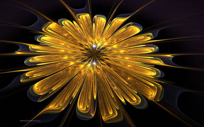 Golden Flower by PaMonk