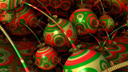 Christmas Bulbs by PaMonk