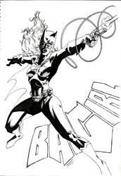 Batgirl al acecho by Flashmanya