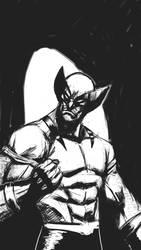 sketch Logan cellphone  by Flashmanya