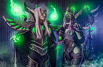 HotS - Master Sylvanas and Master Kael'thas by Feyische