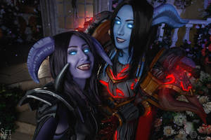 Draenei Hunters (Teir 12 and Black Dragon Mail) 4 by Feyische