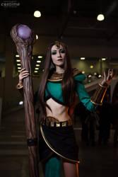 Diablo 2 - Sorceress (2) by Feyische