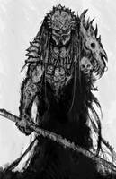 Old Hunter by Abelardo