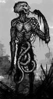 Plague Giant by Abelardo