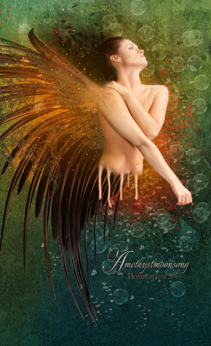 Angel Wings by amethystmstock