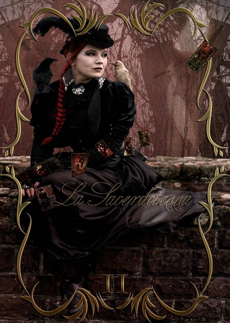 The High Priestess by amethystmstock