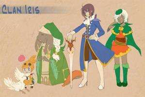 FFTA2: Clan Iris by Zilleniose