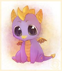Baby Spyro by Zilleniose