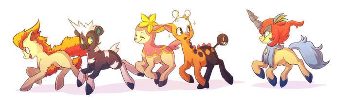 PKMN: Friendship is Pokemon by Zilleniose