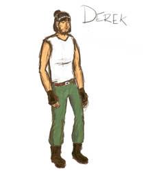 Derek Augustine by raptoregg64