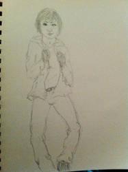 Sketch - Shannon by raptoregg64
