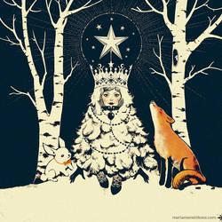 New Year card by maria-menshikova