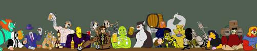 Diago's Happy Hour Art Jam by Bug-Off