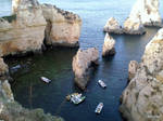Boats Algarve Portugal by zerplon