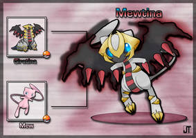 PokeFusion: Mewtina by JT-PokeKa