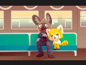 Train Ride by Mephikal