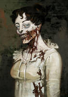 Pride and Prejudice and Zombie by pietro-ant