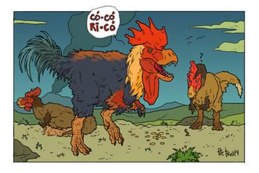 T-Rex by pietro-ant