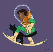 Super boy by pietro-ant