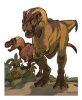 Tiranossauro Rex by pietro-ant
