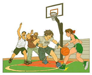 Basketball by pietro-ant