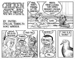 Chicken Skewer by pietro-ant