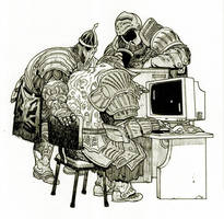 Dark Souls by pietro-ant