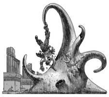 Giant Amoeba by pietro-ant