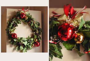 Christmas Wreath by Teyvilin