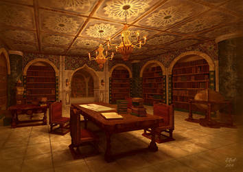 library by phicek